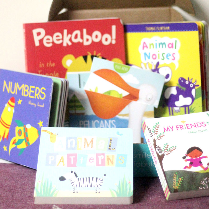 One of the best non-toy birthday gifts for two year olds is a cool book subscription!