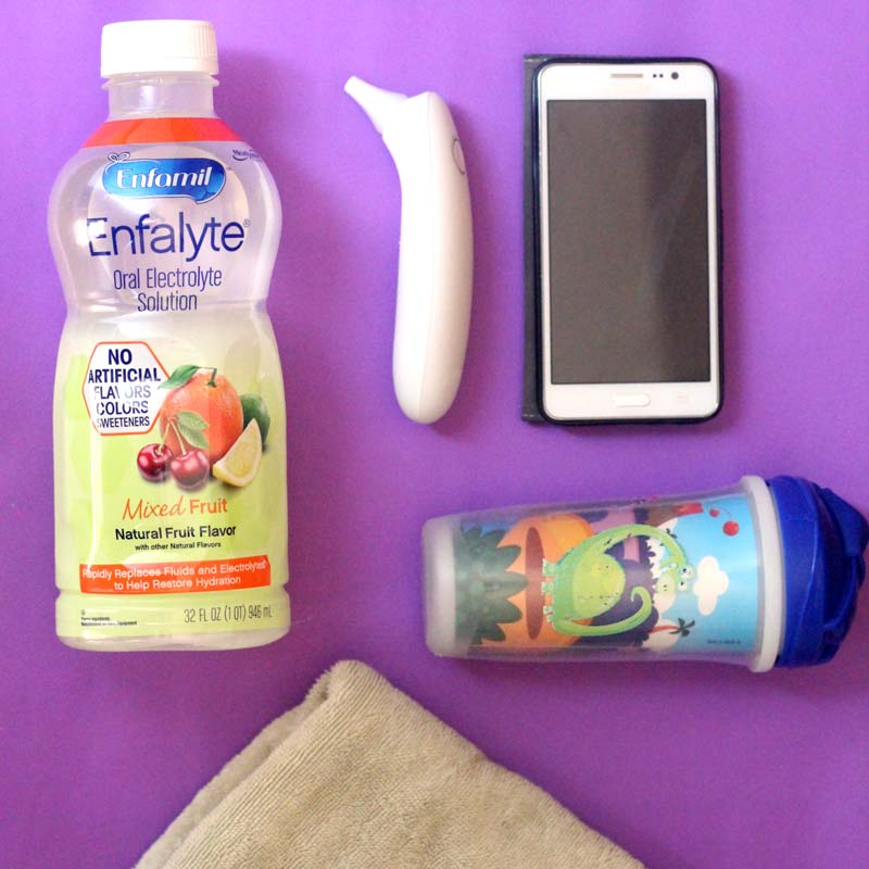 Do you know what to do when your toddler is throwing up? Click to learn more about how to be prepared for a sick child with these simple practical parenting tips.