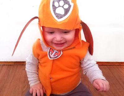 Baby Zuma PAW Patrol Costume DIY