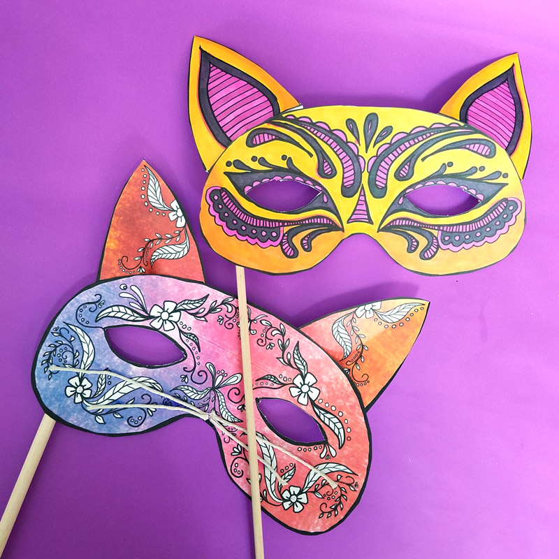 graphic relating to Et Mask Printable identify Cat Masks Printables and Paper Craft * Mothers and Crafters
