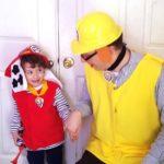 Rubble PAW Patrol Costume DIY