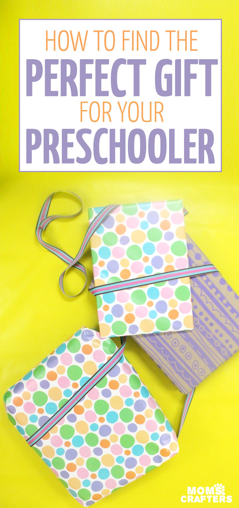 Looking for ideas for what makes great gifts for preschoolers? These parenting tips will help you choose yourself what works for YOUR child - so that your gift won't be regifted...