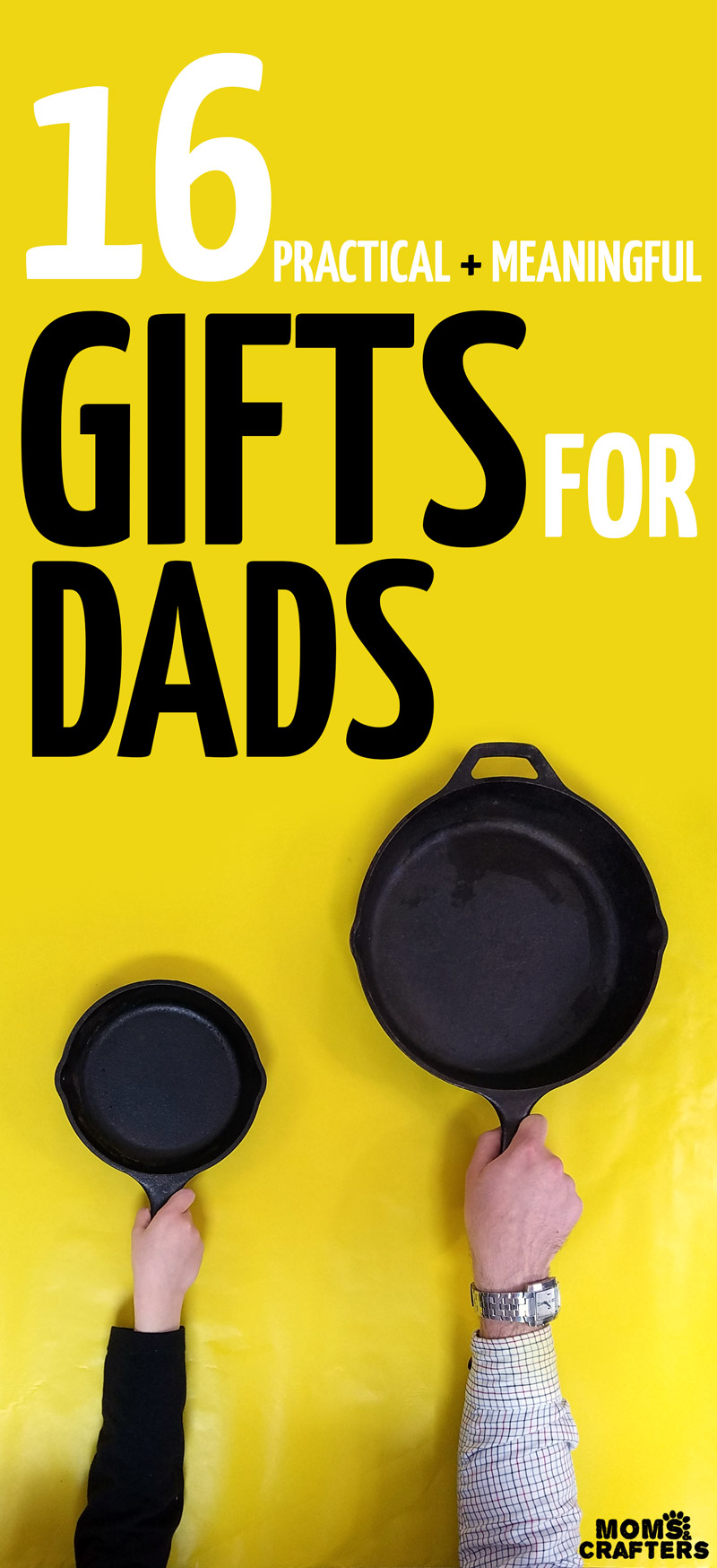 This awesome list of gifts for dads includes every type of Dad you might want! You'll find meaningful gift ideas for men and for fathers for Christmas, Hanukkah, birthdays, or anything...