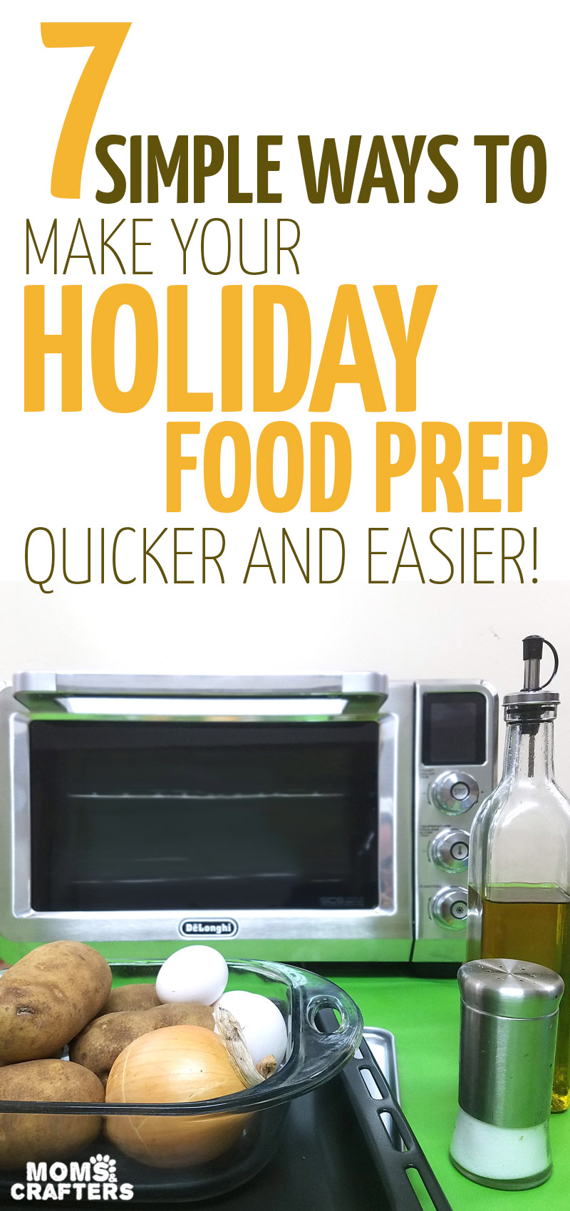 Streamline your holiday prep with these super simple tips - plus a delicious potato kugel recipe! Cook your favorite traditional dishes much easier! #christmas, #holidays #winter #hanukkah #recipe