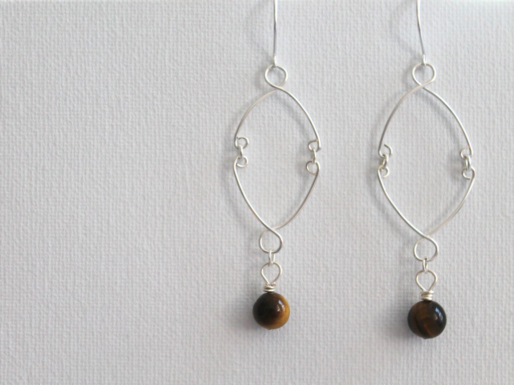 Wire Work Earrings