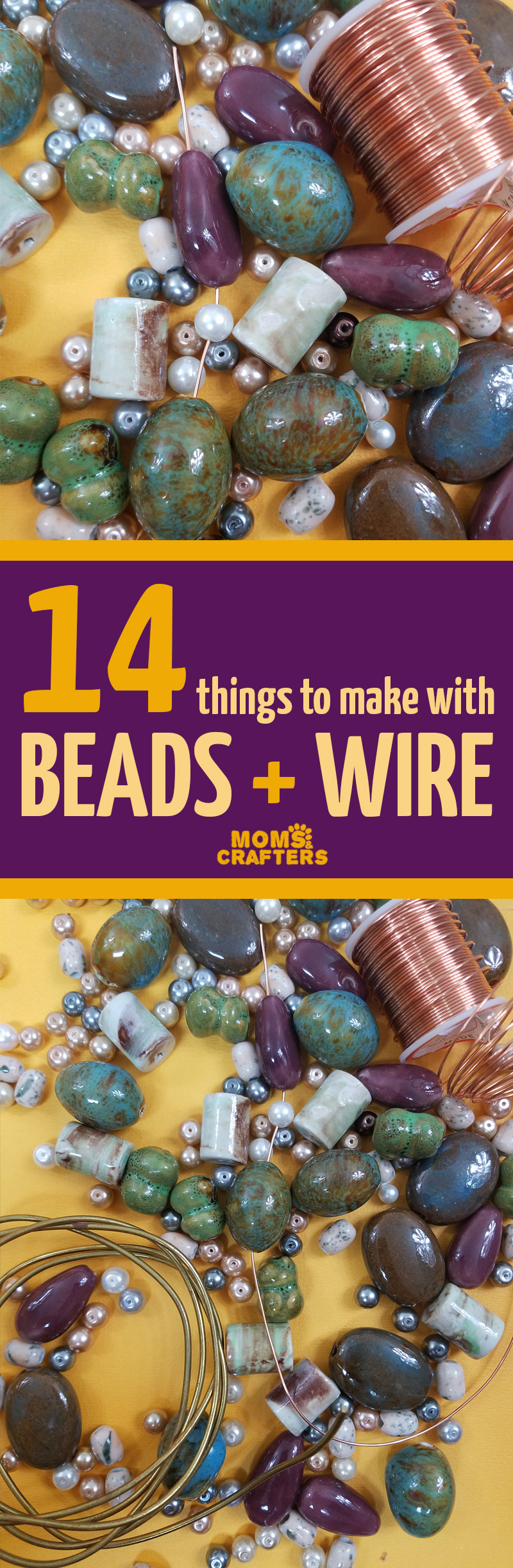 These easy beaded DIY leather wristlets are great for using up scraps of leather and leftover beads. Complete instructions on how to make a wire wrap loop.
