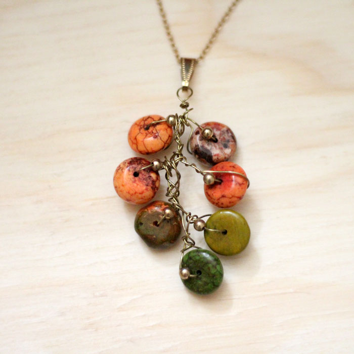 Branch Necklace from Moms and Crafters