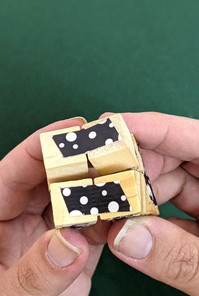 DIY INFINITY CUBE - a fun fidget toy for kids
