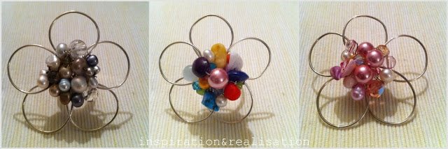 Wire Bead Flower