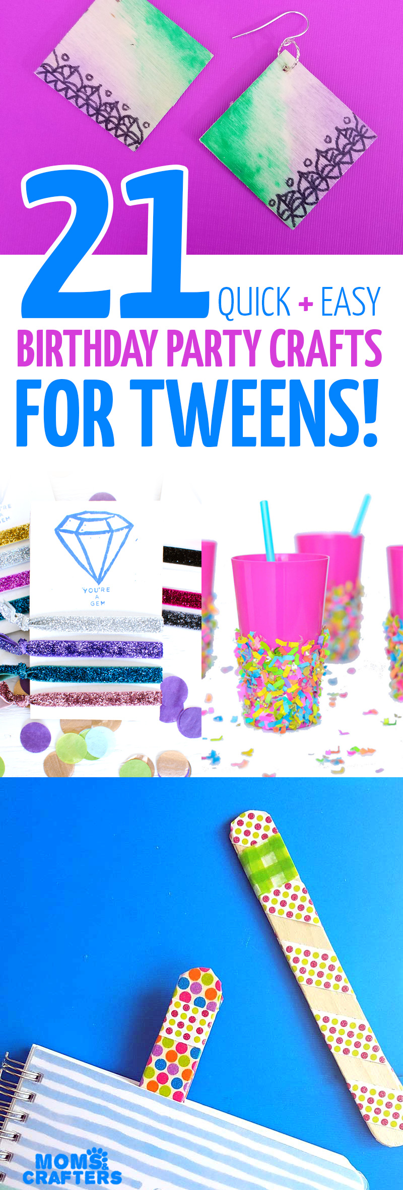 These Cool And Easy DIY Ideas Are The Perfect Birthday Party Crafts For Tweens Teens