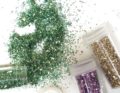Biodegradable Glitter and other Eco Friendly Glitter Ideas