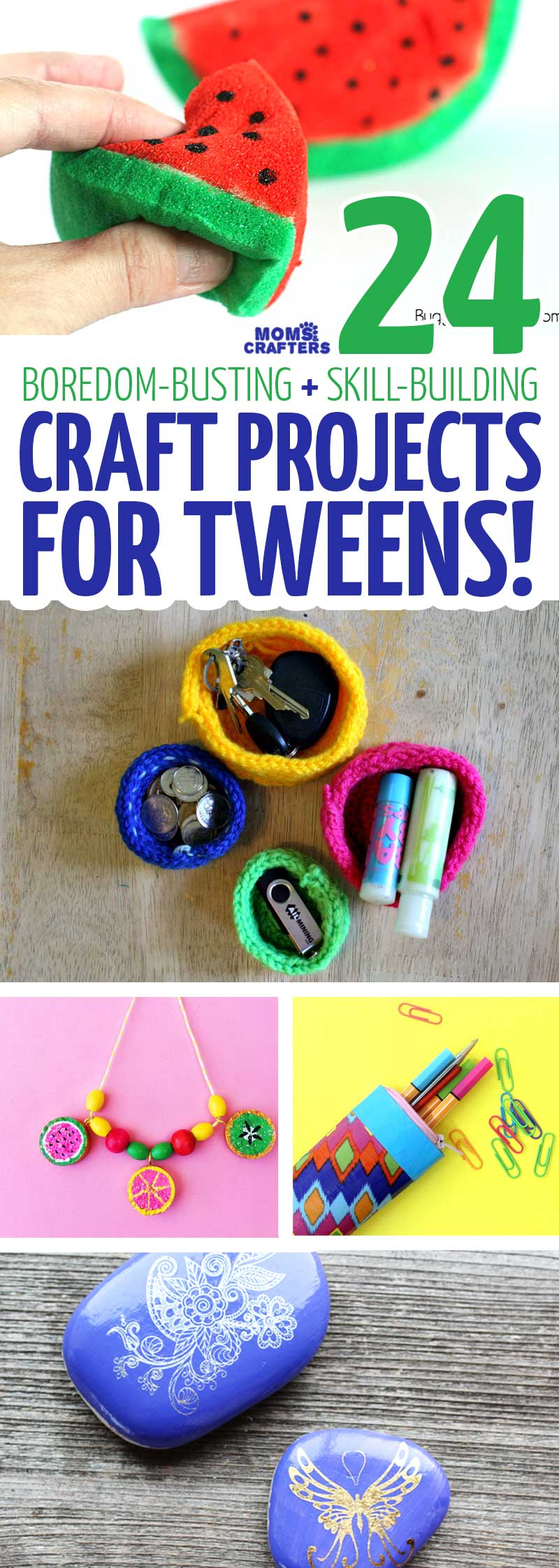 Craft Projects For Tweens 24 Cool Crafts And Skills To Learn