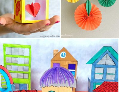 Fun Crafts for Tweens with Paper