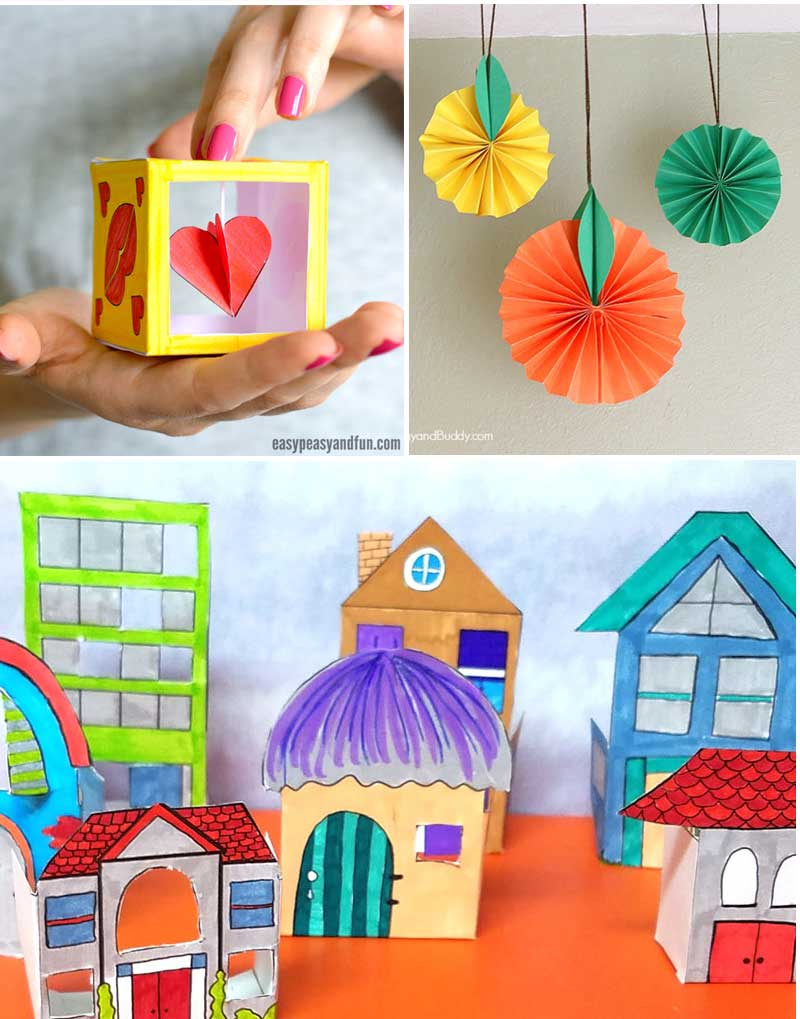 Try These Fun Crafts For Tweens With Paper