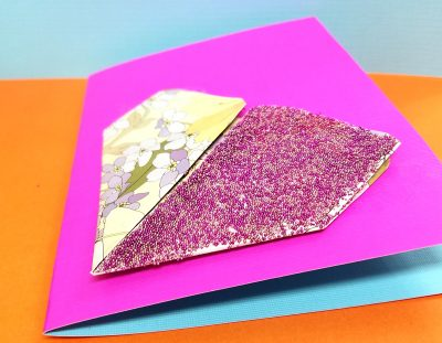 Origami Heart Card – Valentine's Day Craft for Teens and Tweens