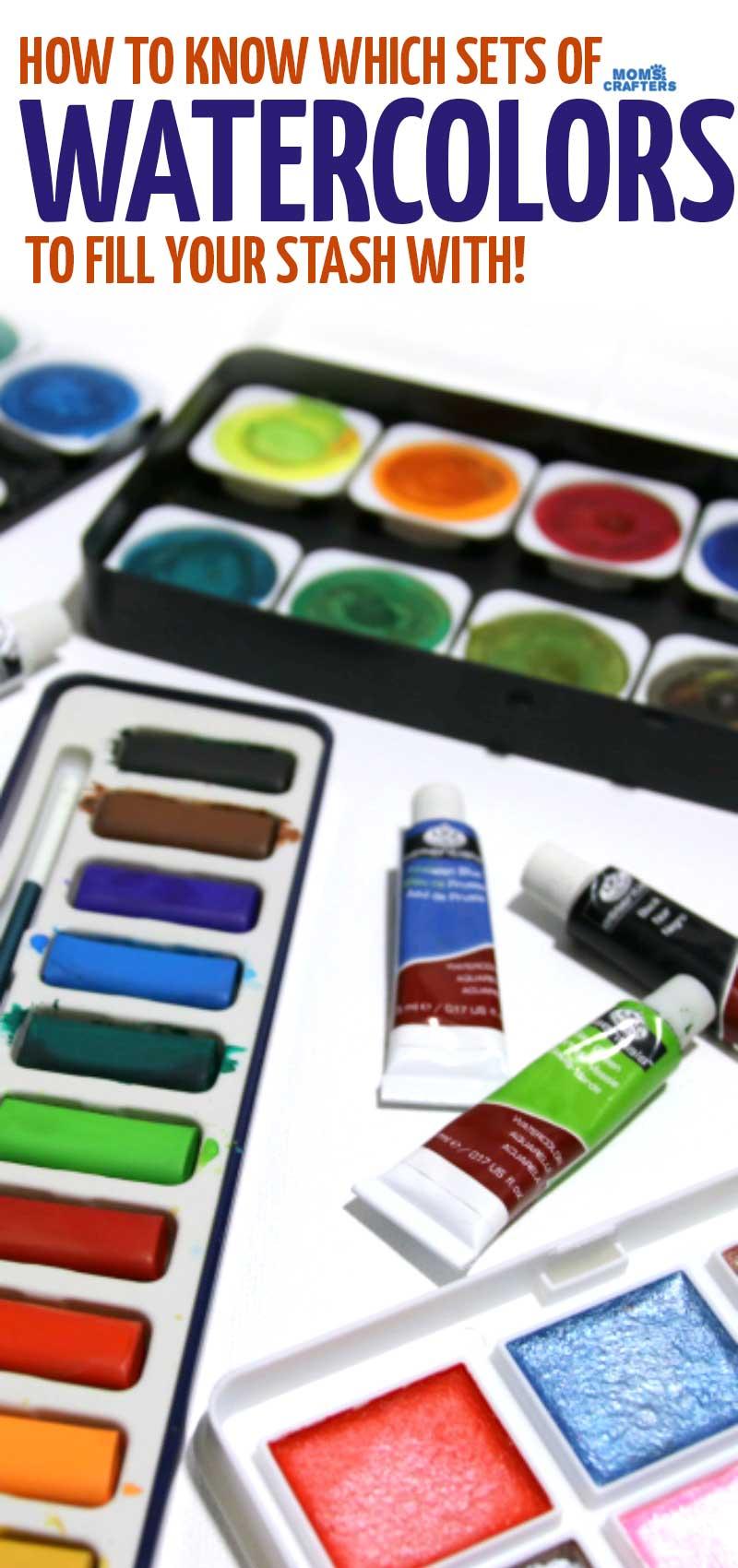 Best Watercolor Paints - Watercolor Paint Sets for Beginners