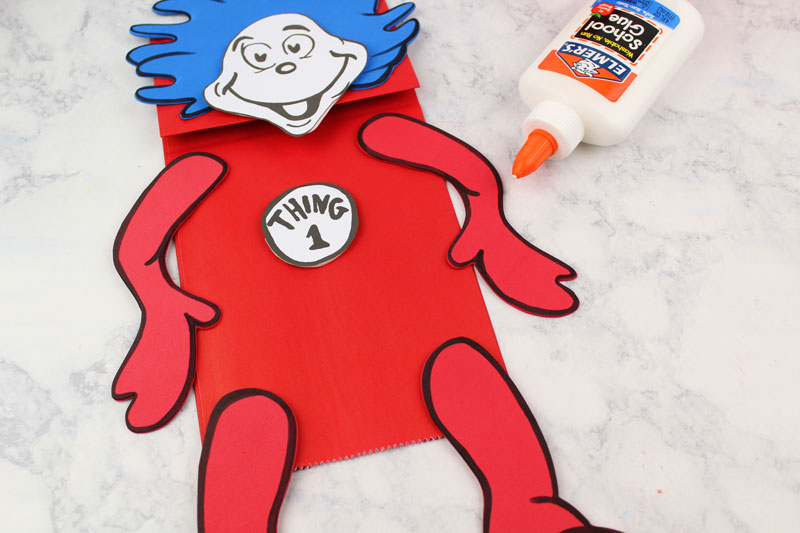 picture about Thing 1 and Thing 2 Printable referred to as Issue 1 and Detail 2 Puppets - Cost-free Printable Template * Mothers