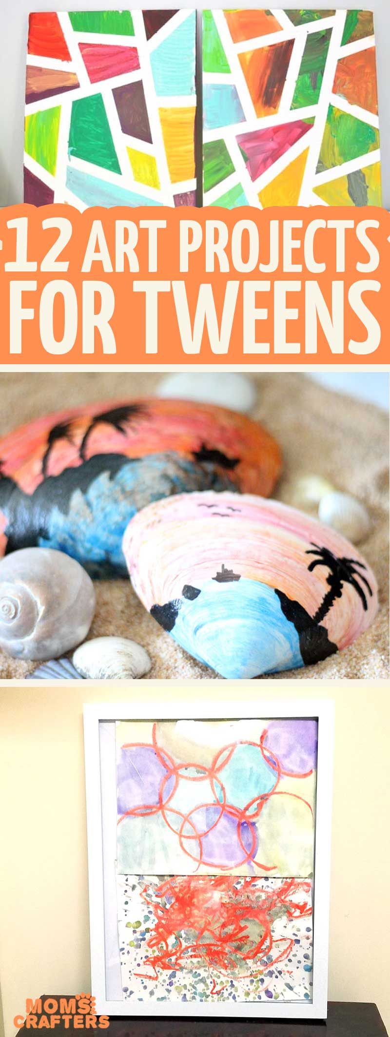 12 Art Projects for Tweens and Teens