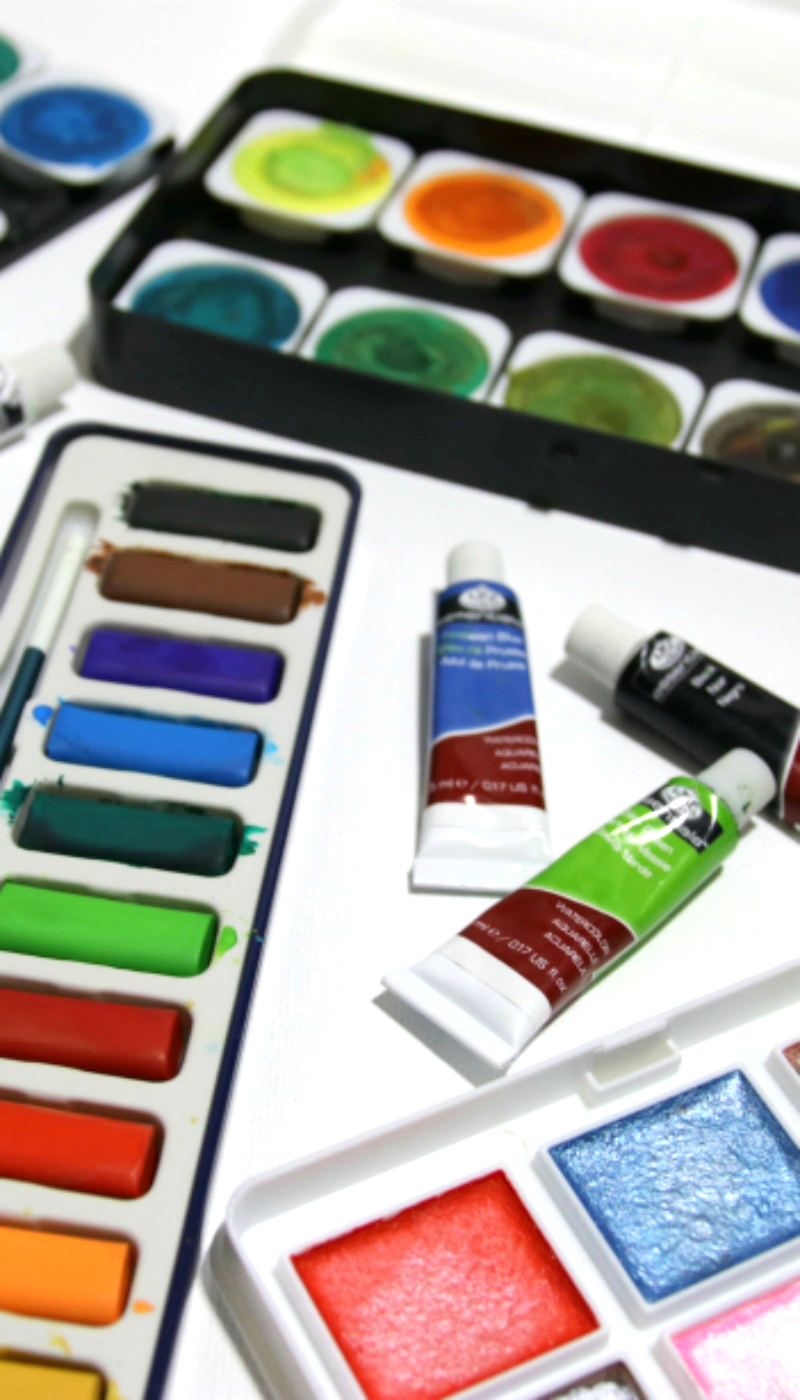 The best watercolor paints assortment