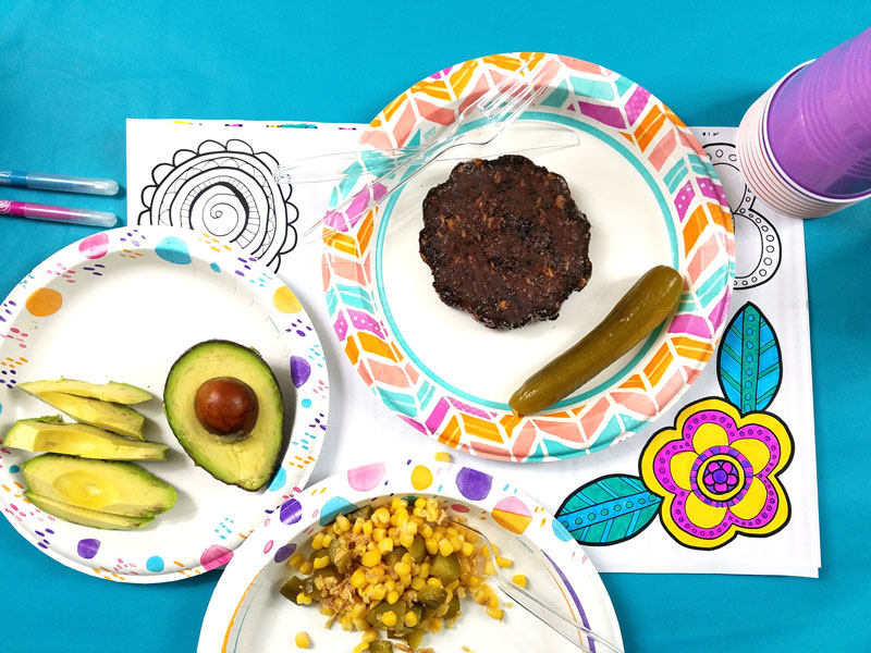 Color your own placemats