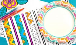 coloring placemats for adults