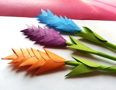DIY Paper Heliconia – Free Printable Paper Flower Templates