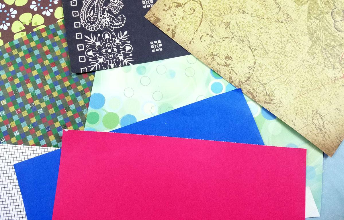 scrapbook paper crafts