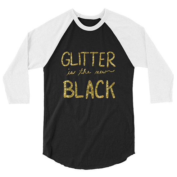 Glitter is the new Black