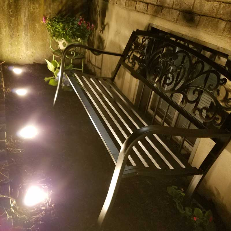 Jasco Patio Lights: With A Sweet Sitting Nook!