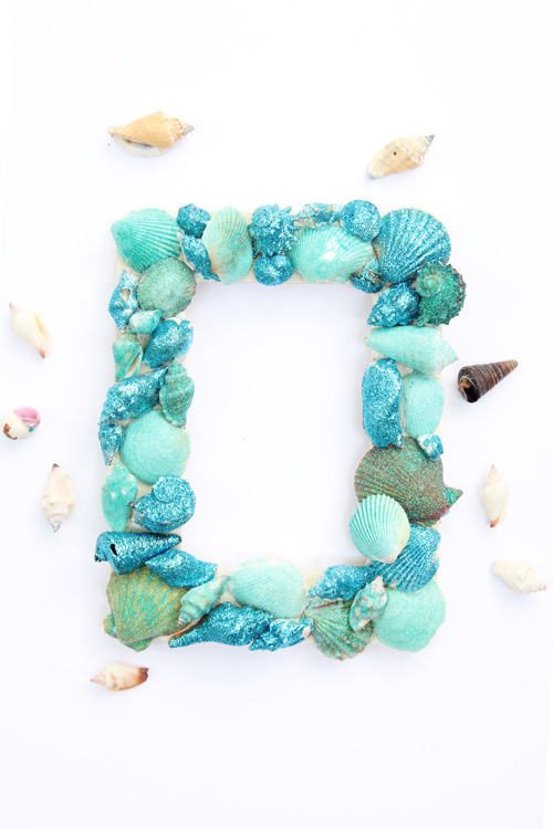Summer crafts for tweens - seashell crafts!
