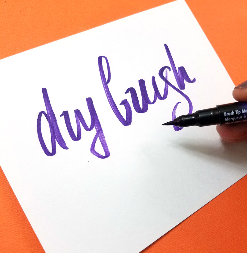 The best brush pens for lettering in dry brush