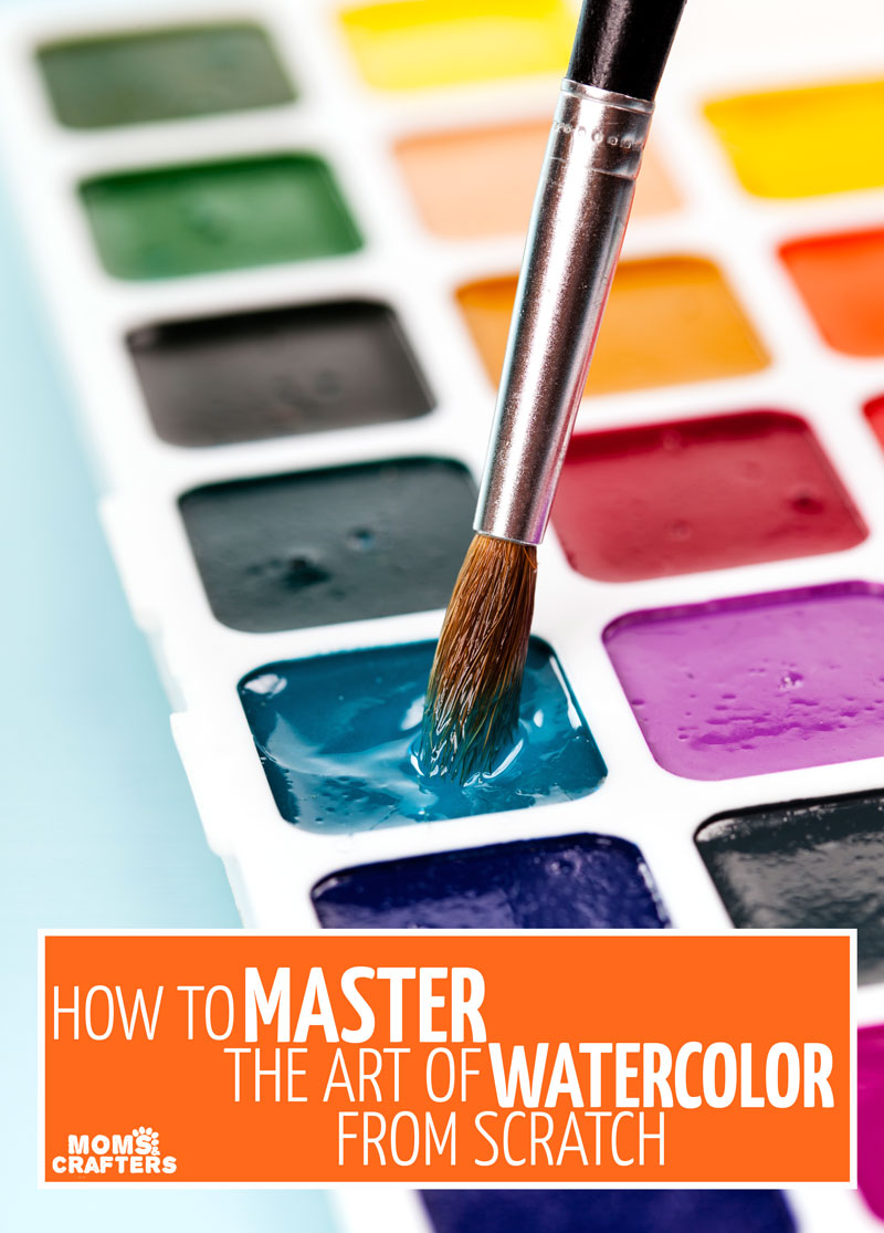 Click to learn how to watercolor and to master the art of watercoloring for beginners!