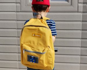 DIY LEGO backpack for boys and girls