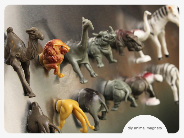 Things to make with toy animals