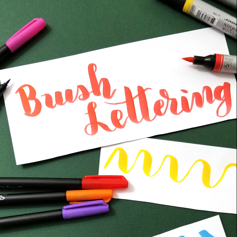 brush lettering tutorial tips and tricks for beginners