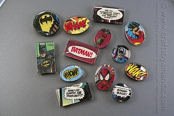 Comic Book Magnets