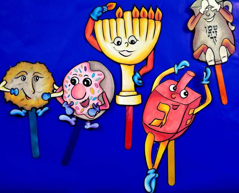 Hanukkah Crafts For All Ages Coloring Pages Recipes And Printables