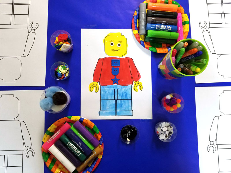 Gifts for creative kids - Chunkies lego man