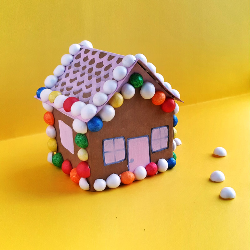how to make a gingerbread house with wood