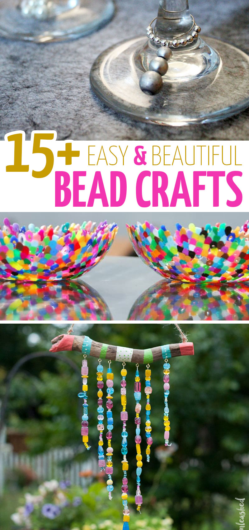 Bead Crafts 17 Ideas For Home Decor Jewelry Kids And More