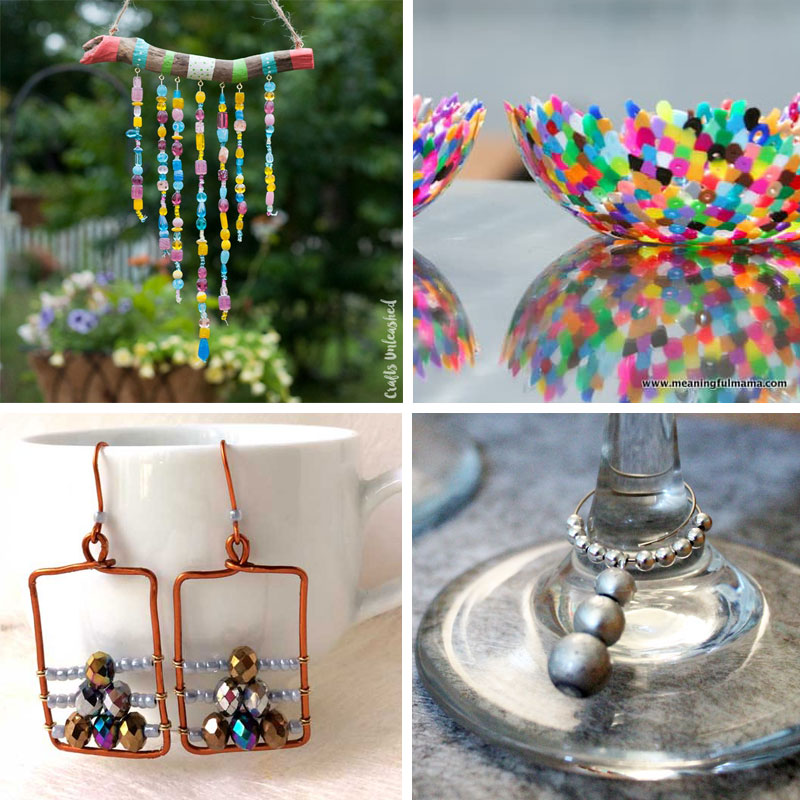 Bead crafts for kids and adults