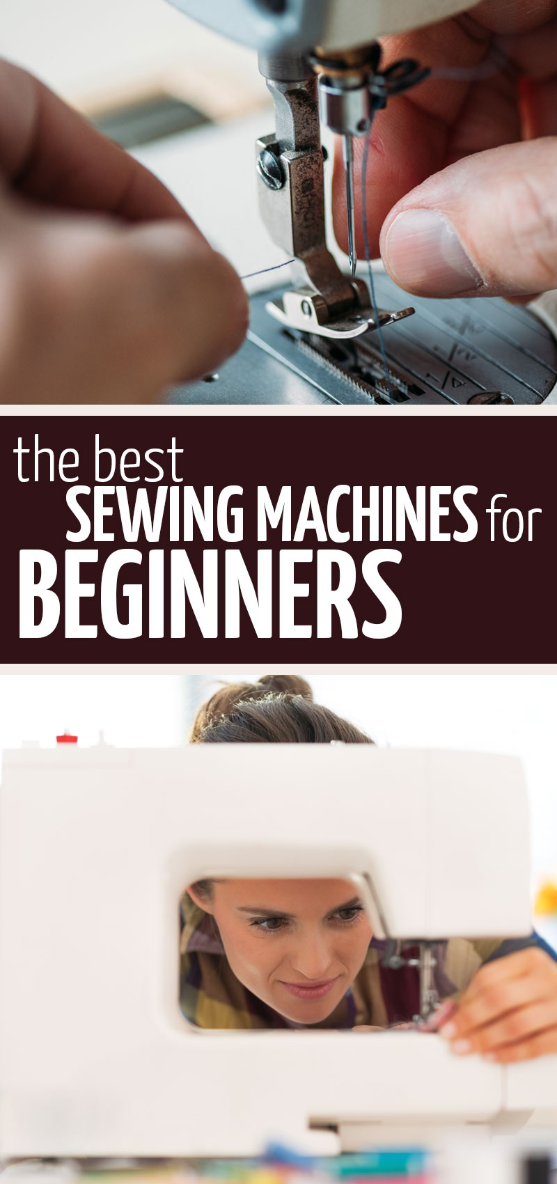 What is the best sewing machine for beginners? These sewing machine reviews round up the three best sewing machines for beginner sewers and share what's best about each.