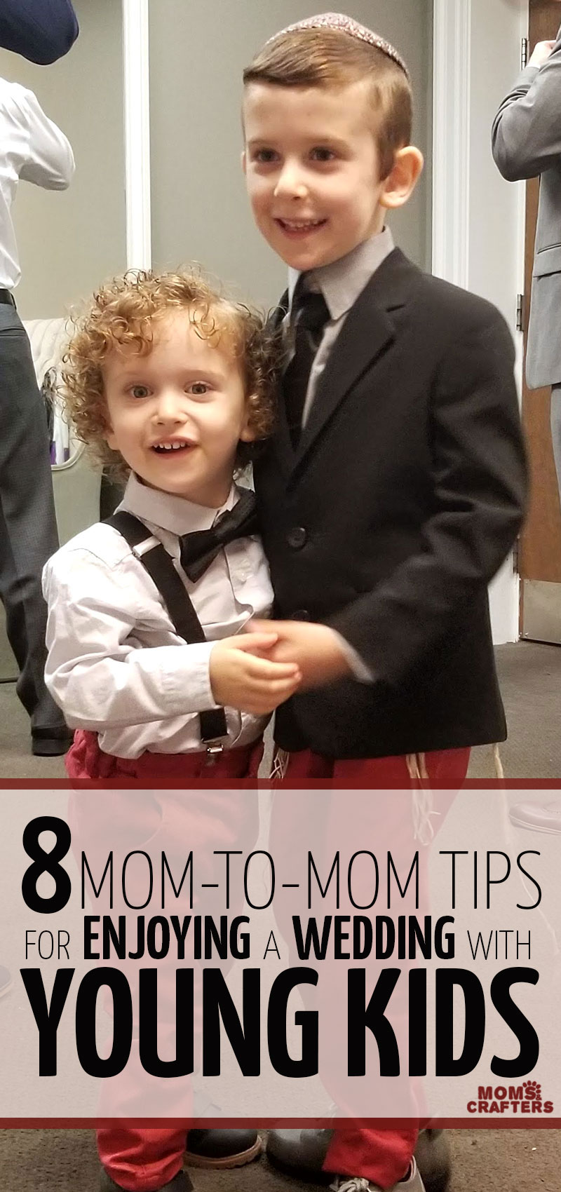 If you're bringing kids to a wedding, you'll want to read these parenting tips for kids at a wedding - it'll make the day go so much smoother!