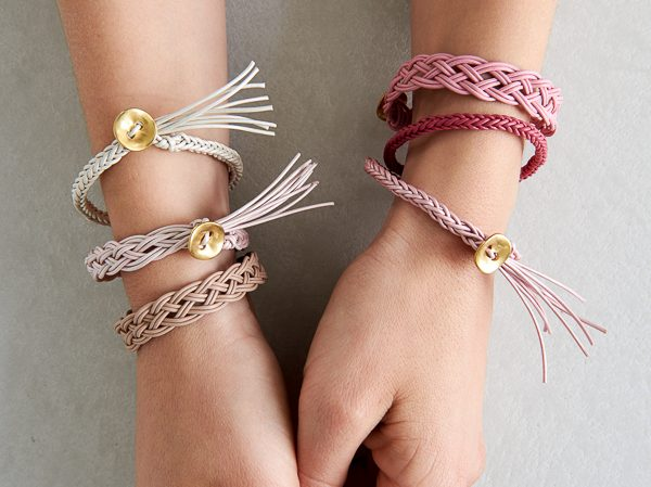 Braid Bracelet Diy Ideas Using Leather Fabric And More