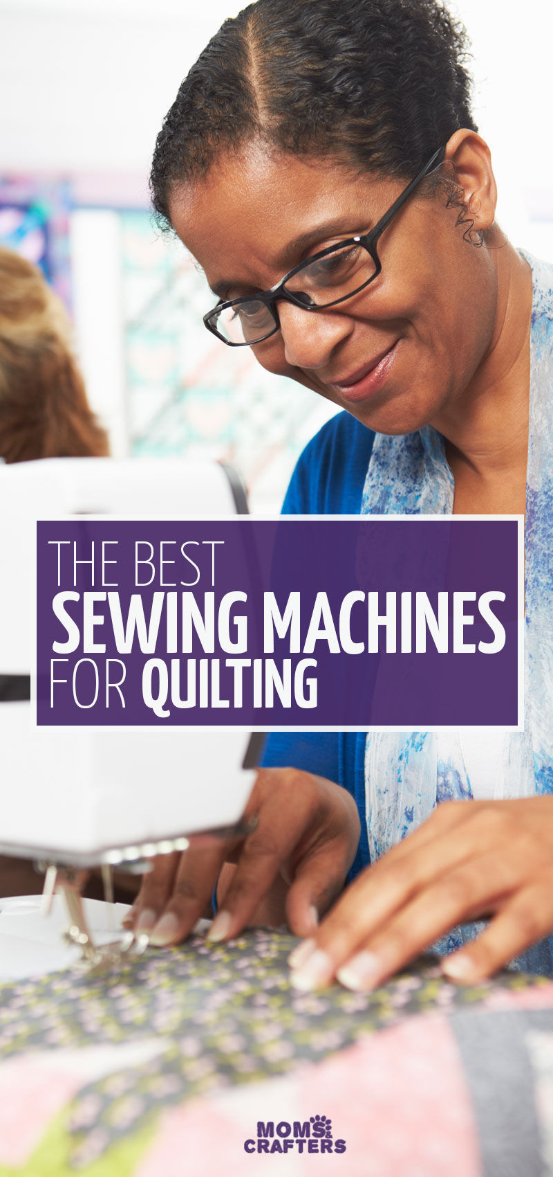Click for reviews of the best sewing machine for quilting for every need and budget! This quilting for beginners tips helps you get the right sewing machine for your needs.