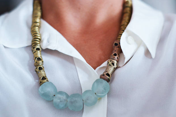 A list of 23 cool DIY statement necklace projects
