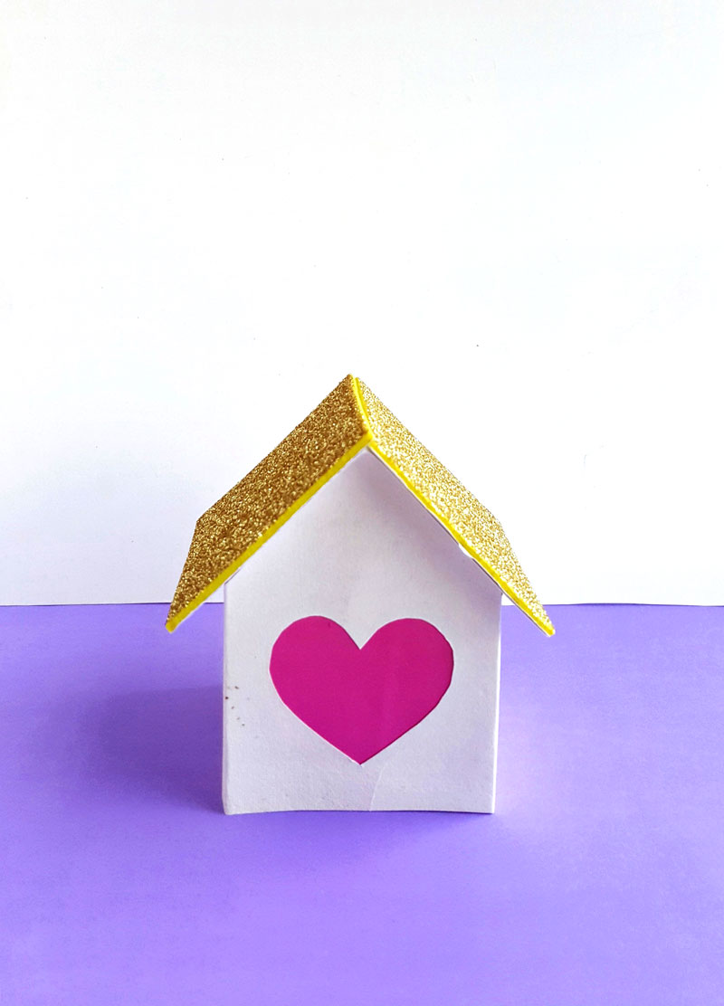 Make these beautiful DIY valentine paper lanterns - a fun paper valentine's day craft for kids