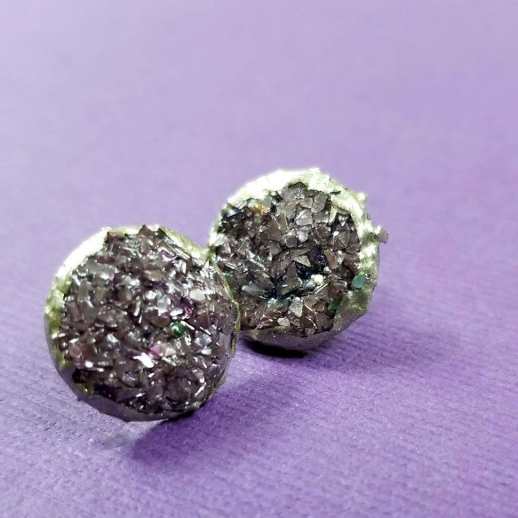 Druzy Earrings DIY