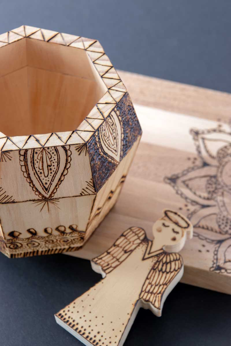 Woodburning Designs Strokes and Patterns for Beginners