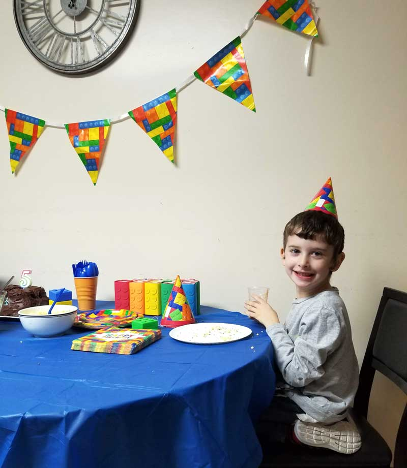 LEGO Birthday Party Ideas For Food